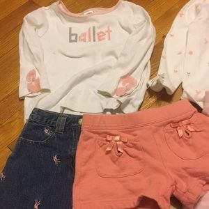 Matching Sets - Girls Ballerina Gymboree Collection